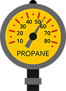 Propane Fuel Gauge