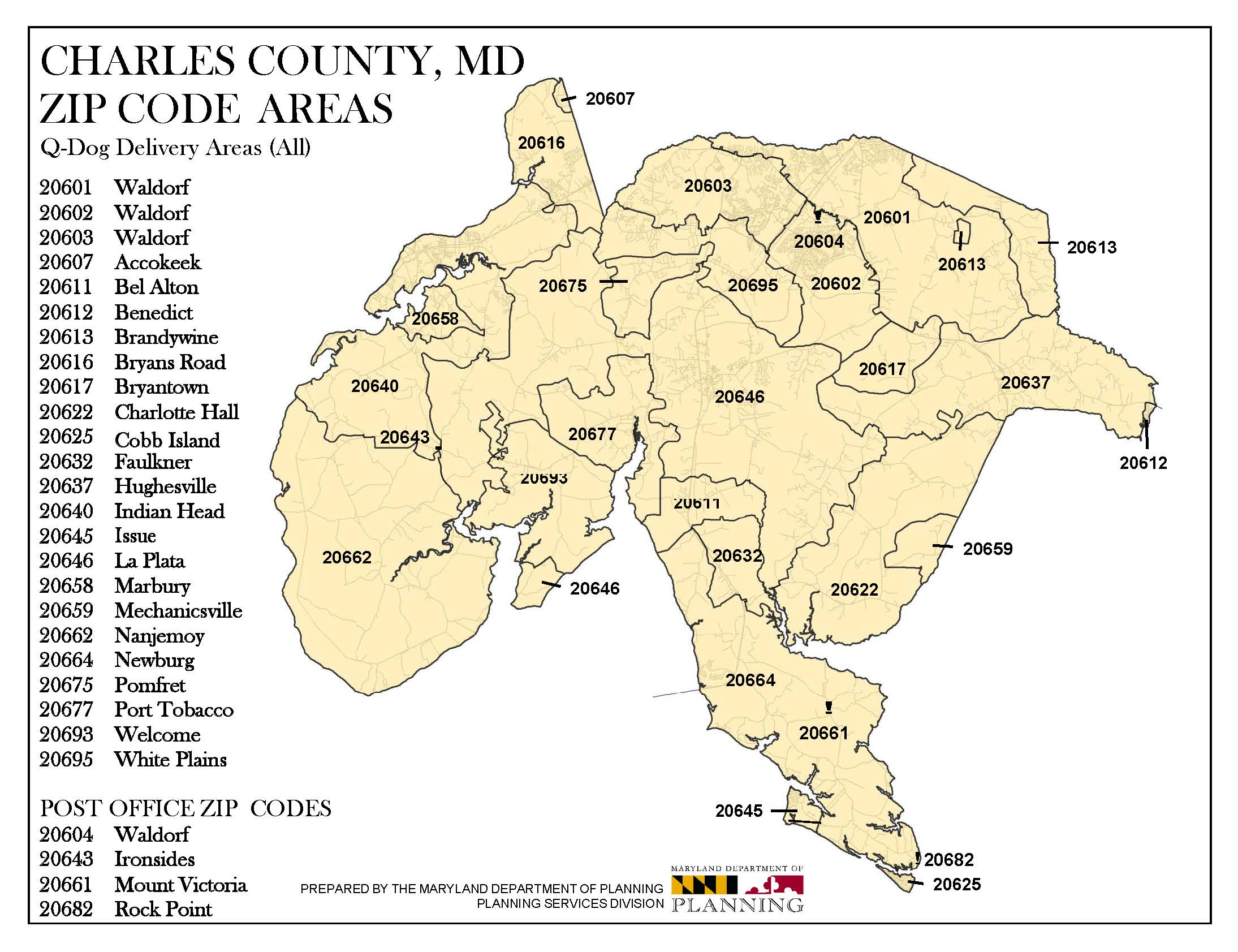 Frederick County Md Zip Code Map.Service Area Maryland Q Dog Fuels